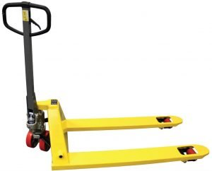 "27x48"" Poly Steer & Single Load Wheel TSP Series Premium Pallet Jack-0"