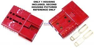 SBE160 160A Red Battery (Charger) Connector Assembly Kit