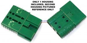 SBE160 160A SBE Style Green Battery Connector (Charger) Housing