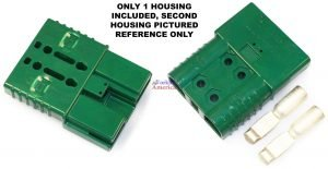 SBE160 160A 2/0 Green Battery (Charger) Connector Assembly Kit