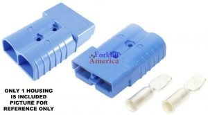 SB350 350A 4/0ga Blue Battery (Charger) Connector Assembly Kit