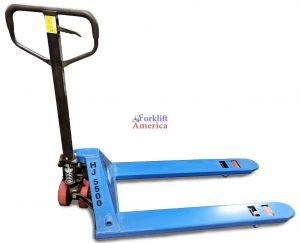 "20.5x48"" Poly Steer & Single Load Wheel HJ Series Pallet Jack"