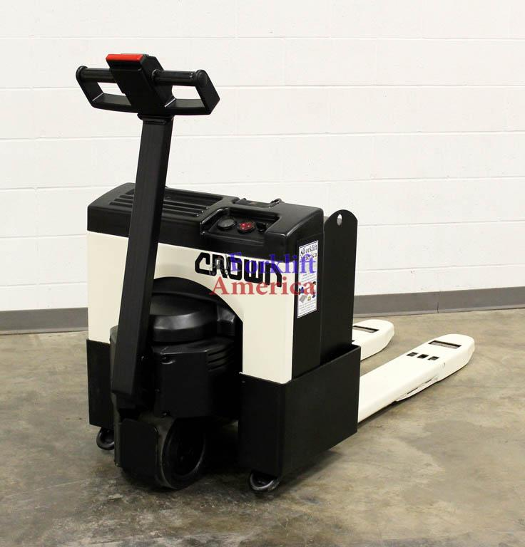 4,000 LB Crown 40GPW-3-14 Electric Pallet Jack-0