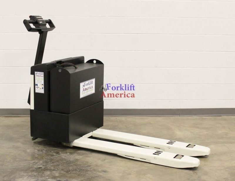 4,000 LB Crown 40GPW-3-14 Electric Pallet Jack-11844