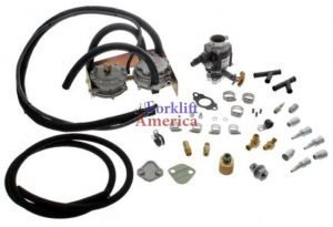 Impco Propane (LP/LPG) Conversion Kit for Toyota Forklifts 4Y & 4P Engines